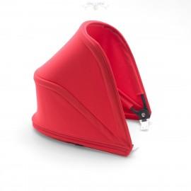 Capota extensible Bugaboo Bee 5 para silla de paseo rojo neón