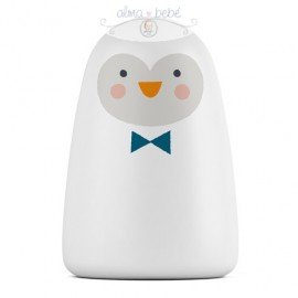 Lámpara infantil smart Penguin luz multicolor Suavinex